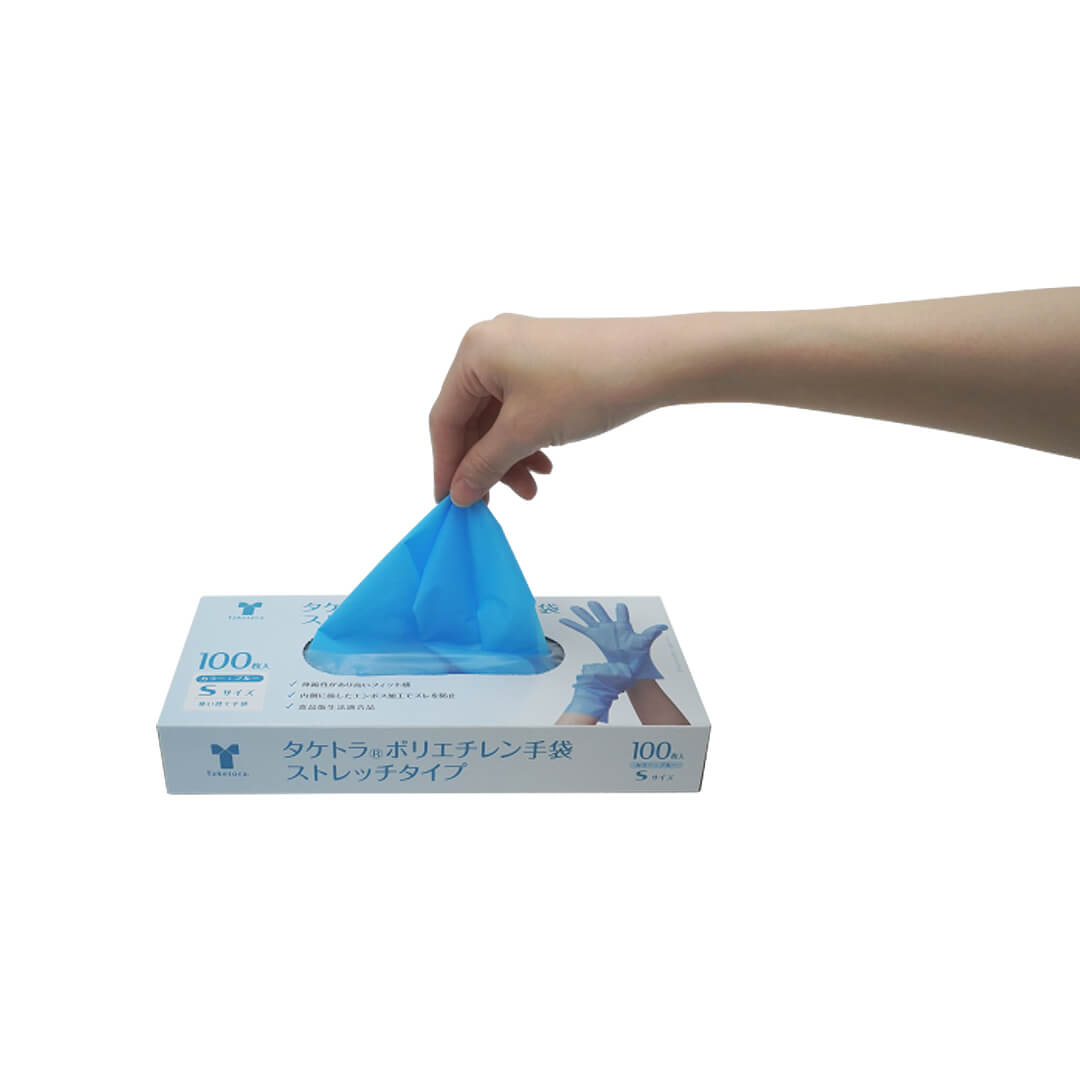 タケトラ®ポリエチレン手袋 ストレッチタイプ