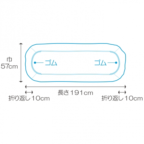 フェルラック®ストレッチャーカバー(吸水/防水タイプ)