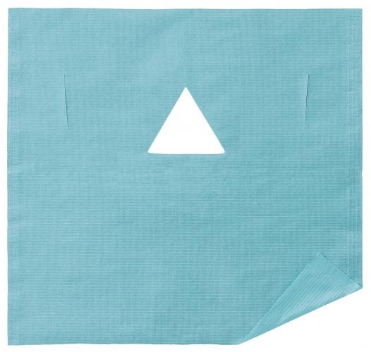 三角穴フェイスガード