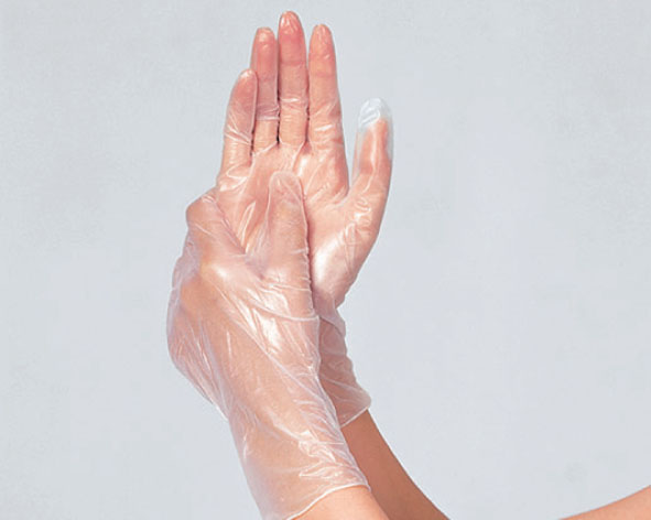タケトラ®プラスチック手袋200 パウダーフリー